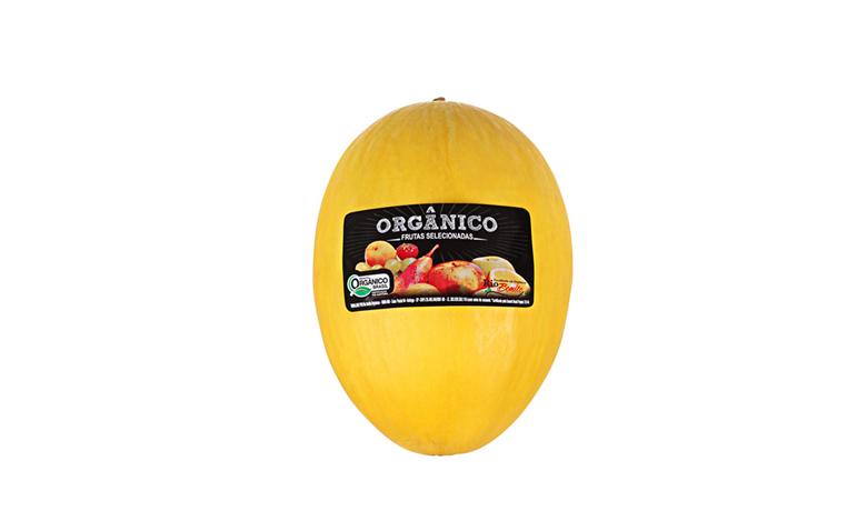 Foto do produto Melão Orgânico Amarelo Fazenda Rio Bonito