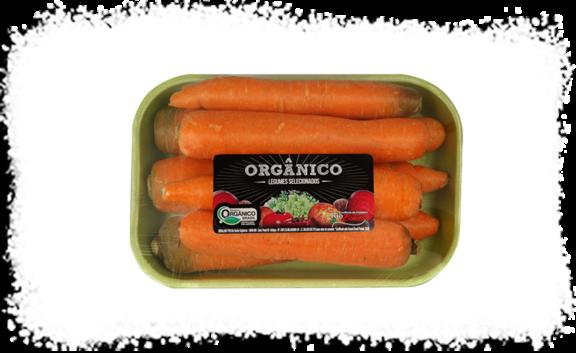 Cenoura Orgânica Fazenda Rio Bonito