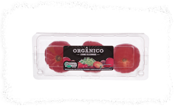 Tomate Heirloom Orgânico 3 unidades Fazenda Rio Bonito