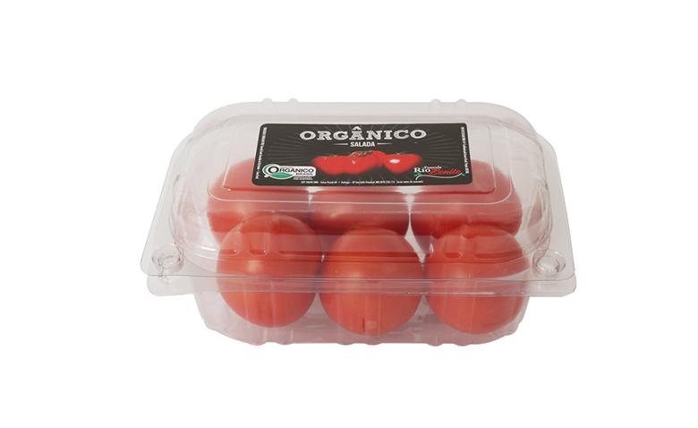 Foto do produto Tomate Salada Orgânico Fazenda Rio Bonito